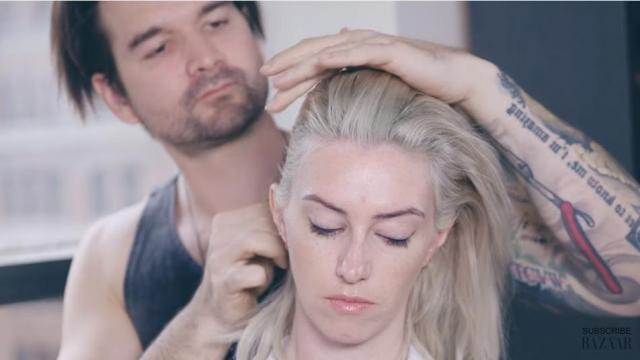 A prominent hair stylist decided that in order to spend more time with his fiancee, he would do her hair every day for a year leading up to their wedding. (Deseret Photo)