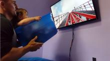 IMAGE: Have You Seen This? Dad's genius DIY roller coaster hack