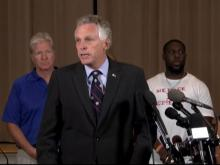 Virginia governor holds press conference on Charlottesville tragedy