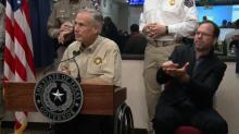 Texas Gov. Abbott holds briefing about Hurricane Harvey