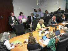 Wake County school board work session