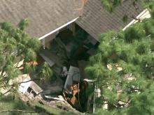 Sinkhole devours Florida home