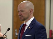 Rep. Justin Burr, R-Stanly