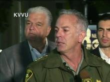 Law enforcement officials hold presser on Las Vegas shooting