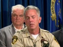 Officials hold news conference on Las Vegas shooting
