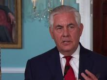 Sec. of State Rex Tillerson to make statement