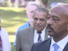 Candidate Charles Francis speaks about mayoral race
