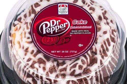 You Can Now Buy Dr Pepper Cake At Your Grocery Store (Simplemost Photo)