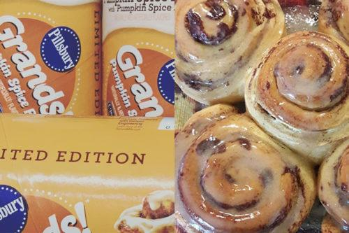 Pillsbury Pumpkin Spice Rolls Are Back To Get You In The Mood For Fall (Simplemost Photo)
