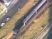 Man on tracks hit by train in downtown Durham