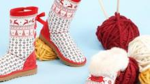 IMAGE: Keep Your Feet Warm In These Festive Holiday-themed UGGs
