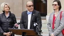 IMAGE: Chairman tells Johnston school board member to put up or shut up regarding alleged wrongdoing