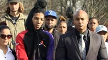 IMAGES: Activists compare Raleigh police to gang following man's rough treatment during arrest
