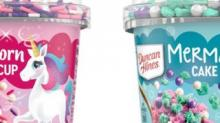 IMAGE: Duncan Hines Is Rolling Out Colorful Mermaid And Unicorn Cake Cups