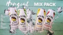 IMAGE: Malibu Is Now Making Sparkling Cocktails In Cans