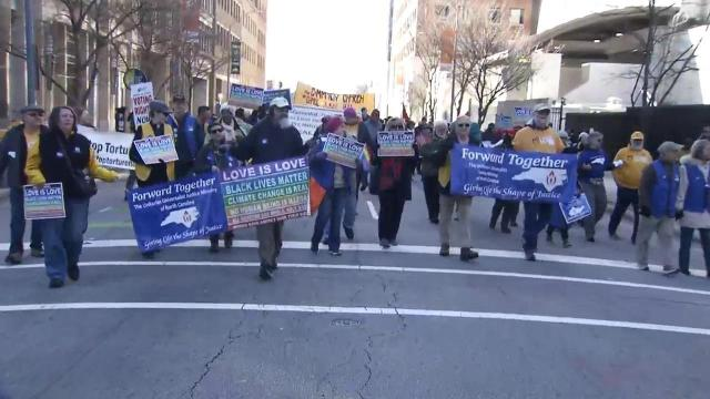 HKonJ and Moral March on Raleigh