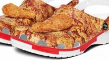 IMAGE: You Can Soon Buy A Pair Of KFC Crocs, Complete With Chicken-scented Drumsticks On Top