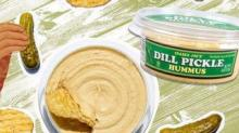 IMAGE: You Can Now Buy Dill Pickle-Flavored Hummus