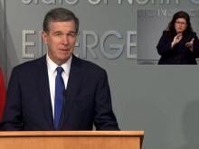 Cooper discusses next steps in NC's pandemic response