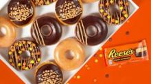 IMAGE: Krispy Kreme Is Bringing Back 3 Reese's Doughnuts But Only 1 Will Be Added To The Permanent Menu