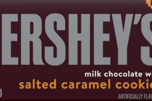 Hershey's Has A New Chocolate Bar With Chunks Of Salted Caramel Cookies (Simplemost Photo)