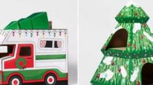 IMAGE: Target Has Cute New Holiday Cat Houses