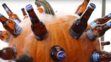 IMAGE: How To Turn A Pumpkin Into A Beer Cooler