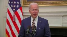 IMAGES: Fact check: Would Biden's plan send checks to families earning $100K?