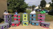 IMAGE: Boy Scout Troop Made Warm Winter Shelters For Stray Cats