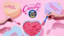 IMAGE: You Could Win A Box Of Hot Pink, Candy-flavored Kraft Macaroni & Cheese