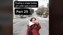 IMAGE: This TikToker Traded Up From A Bobby Pin To A Tiny House — Here's How She Did It