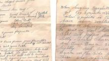 IMAGE: Man Found A Spaghetti Sauce Recipe From 1947 Hidden In His Wall