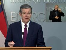 Cooper provides update on pandemic in NC