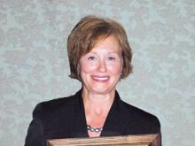 Donna C. Peters, superintendent of Montgomery County Schools, was named the 2010 A. Craig Phillips North Carolina Superintendent of the Year. (Photo courtesy of Montgomery County Schools)