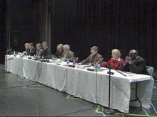 School board discusses Burns' future