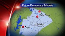wake schools map