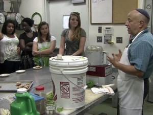 A program, hosted by the Wade Edwards Learning Lab, allows high school students to learn from Raleigh chefs.