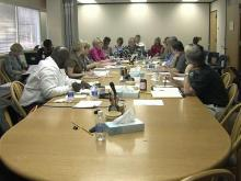 Wake school board talks job cuts