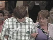 Speaker, supporters escorted from Wake school board meeting