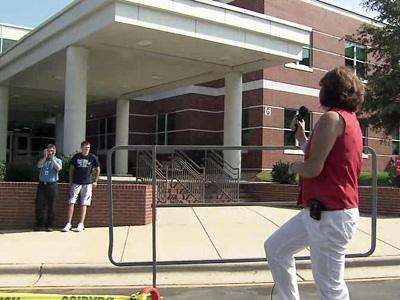 Wake Forest-Rolesville High School reopened on Aug. 16, 2010, after a $51 million renovation project.