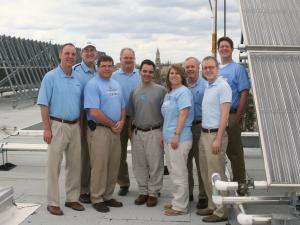 The UNC-CH team reduced energy use at Morrison Hall and won a national contest.