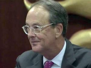 UNC President Erskine Bowles attends his final meeting of the UNC Board of Governors on Nov. 5, 2010. Bowles will retire as the chief executive of the 17-campus UNC system on Dec. 31, 2010.