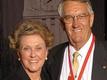 Lonnie and Carol Johnson Poole (Photo courtesy of www.ncsu.edu)