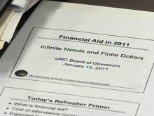 Tuition increases strain UNC's financial aid system
