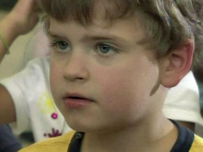 Ben Martin Elementary School student Ethan Jenson said his family was without power for three days following the April 16, 2011, storms.
