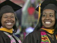 Shaw University graduation 2011