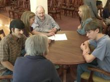 Holly Springs students explore 'living history'