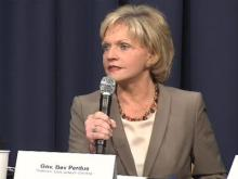 Web only: Gov. Perdue roundtable discussion on education