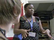 Future teachers tour schools
