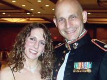 Deployed dad attends Fuquay graduation via webcam